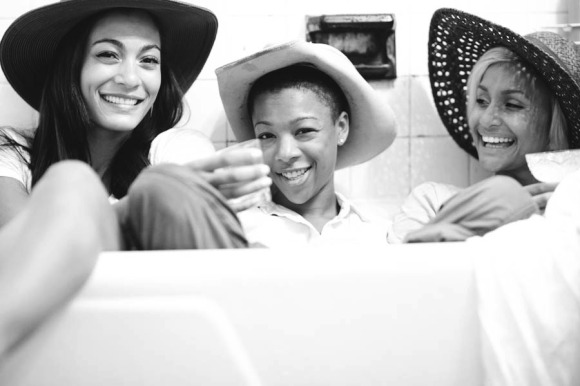 photographed with Samira Wiley and Lauren Davis by Christine Jean Chambers
