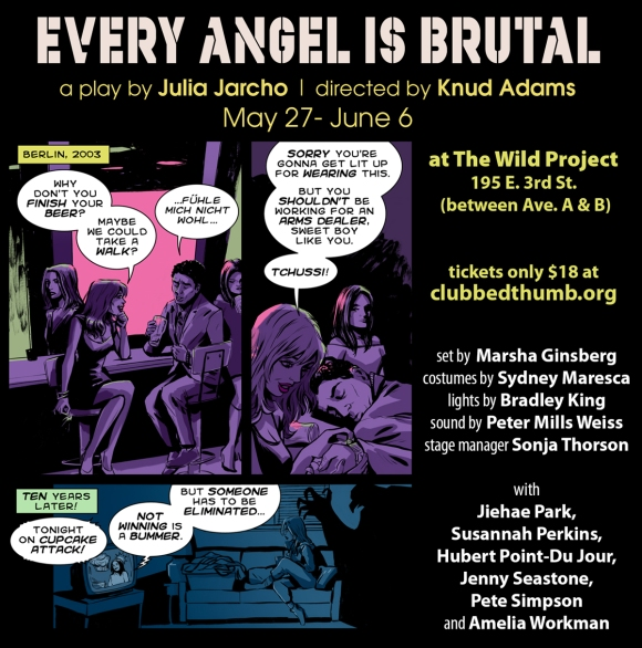 Every Angel Is Brutal graphic